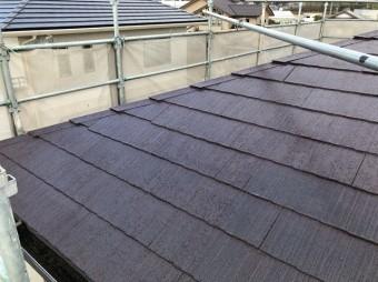 屋根 塗装 完成2