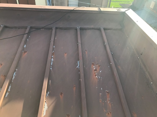 屋根葺き替え 瓦棒