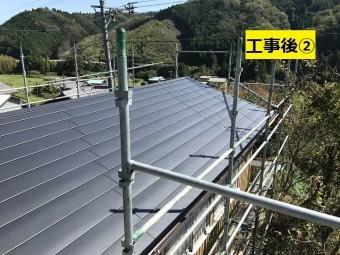 名張市 屋根改修後の写真②