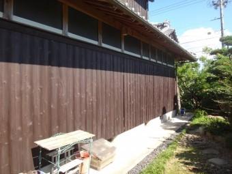 伊賀市 杉板外壁 塗り替え後
