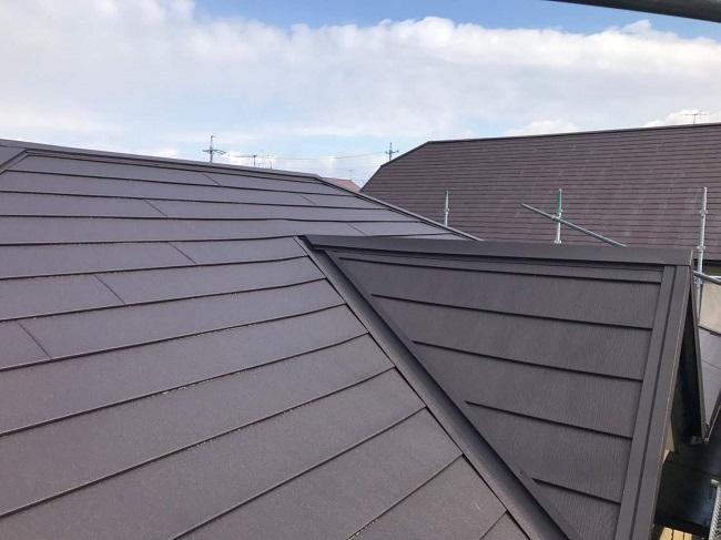 名張市 屋根カバー工法 完工