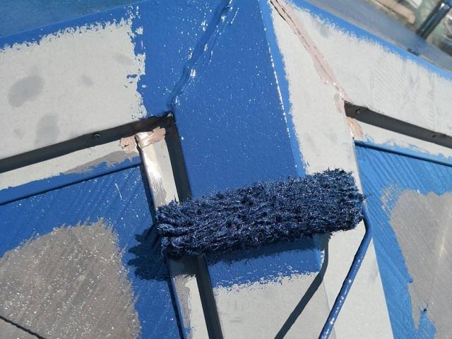 屋根 塗装 棟
