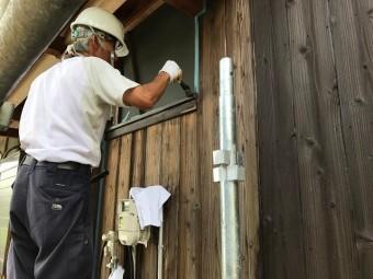 伊賀市 木材保護塗料 ノンロット