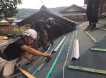 瓦桟 屋根葺き替え