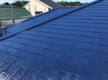 屋根 完成 塗装
