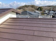 名張 スレート屋根 カバー工法