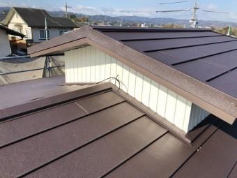 名張市 越屋根 雨漏り修理