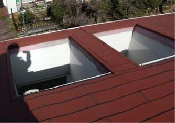 複雑な形の屋根